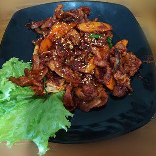 Foto 4 - Makanan(Spicy Pork) di Ahjumma Kitchen oleh Eveline Nathania