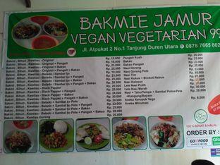 Foto review Bakmie Jamur Vegan Vegetarian 99 oleh Gita Pratiwi 1