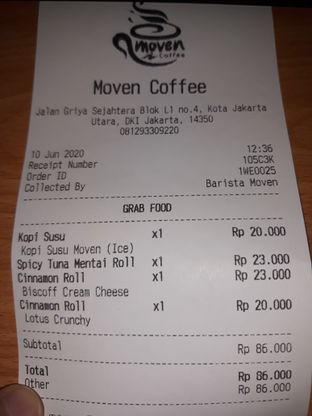Foto 10 - Menu di Moco Moven Coffee oleh Mouthgasm.jkt
