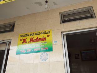 Foto review warung nasi asli ojolali h. mukmin oleh Threesiana Dheriyani 4