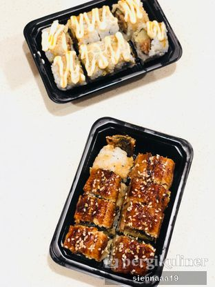 Foto 2 - Makanan(unagi roll) di Sushi Hiro oleh Sienna Paramitha