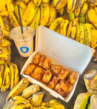 Foto 2 - Makanan di YOMS Pisang Madu & Gorengan oleh Andrika Nadia
