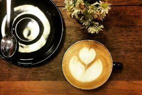 Foto Scandinavian Coffee Shop