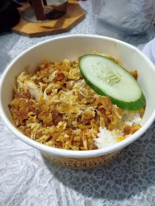 Foto - Makanan(Paket Geprek Karca) di Ayam Keprabon Express oleh Florentine Lin
