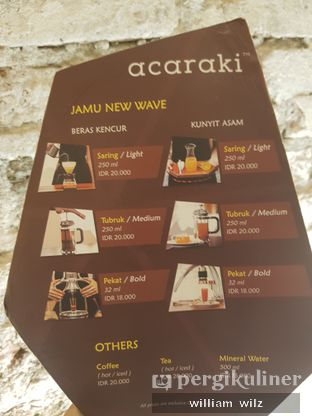 Foto 4 - Menu di Acaraki oleh William Wilz