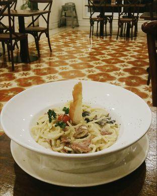 Foto 1 - Makanan(Spaghetti Carbonara ) di Lake View Cafe oleh Elaine Josephine @elainejosephine