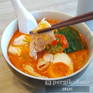 Foto 1 - Makanan(Spicy Miso Ramen) di Nanami Ramen oleh @teddyzelig