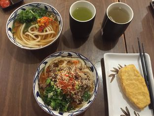 Foto 1 - Makanan di Marugame Udon oleh Theodora