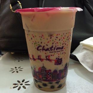 Foto 2 - Makanan(Pearl Milk Tea with Topping Buble) di Chatime oleh defita desty anggraini