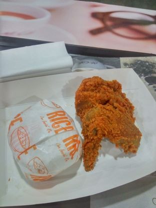 Foto Panas 1 with Spicy Chicken di McDonald's