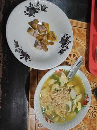 Foto 1 - Makanan di Soto Ayam Kampung Cak Mu'in oleh Joshua Michael