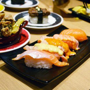 Foto 2 - Makanan(Nigiri) di Genki Sushi oleh Desanggi  Ritzky Aditya
