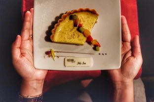 Foto 4 - Makanan(Custard Tart) di Platinum Grill oleh Oryza Sativa