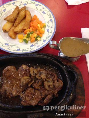 Foto 1 - Makanan(Rib Eye Mushroom Sauce) di Kapten Steak oleh Anastasya Yusuf