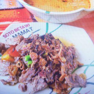 Foto - Makanan(Soto Daging + Nasi) di Soto Betawi H. Mamat oleh JIO