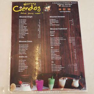 Foto 2 - Menu di Warung Ciendog oleh Eat and Leisure