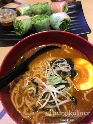 Foto 1 - Makanan(red miso ramen) di Genki Sushi oleh Tiny HSW. IG : @tinyfoodjournal