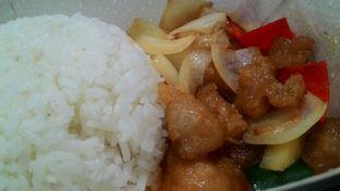 Foto 1 - Makanan(Orange chicken rice bowl) di Rice Bowl oleh T Fuji Hardianti