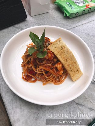 Foto 3 - Makanan(Spaghetti all'Arrabbiata) di Hause Rooftop oleh Rachel Intan Tobing