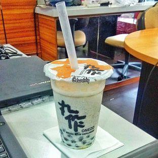 Foto - Makanan(Black Sesame Milk Tea) di Onezo oleh duocicip