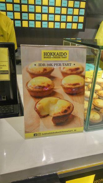 Foto Menu di Hokkaido Baked Cheese Tart