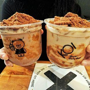 Foto 3 - Makanan(Biscuit Milk Tea & Biscuit Ovaltine) di KOI The oleh duocicip