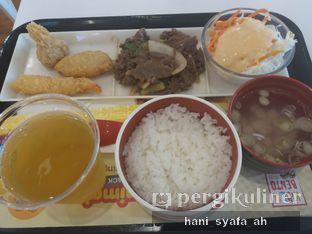 Foto 2 - Makanan(Premium Seafood Set) di HokBen (Hoka Hoka Bento) -  Kartika Chandra Hotel oleh Hani Syafa'ah
