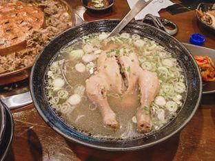 Foto 4 - Makanan(Chicken Ginseng Soup) di Ahjumma Kitchen oleh IG: @delectabletrip