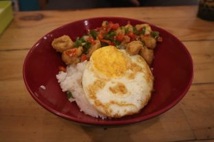 Foto 2 - Makanan(Spicy Salt & Pepper Chicken) di Fat Bubble oleh Lia Harahap