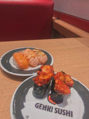 Foto 1 - Makanan di Genki Sushi oleh @qluvfood