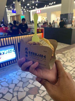 Foto 2 - Makanan di Hokkaido Icecream Puff oleh hokahemattiga