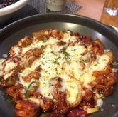 Foto Cheese Buldak di Noodle King