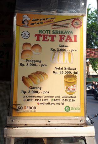 Foto 3 - Menu di Roti Srikaya Tet Fai oleh Eat Drink Enjoy