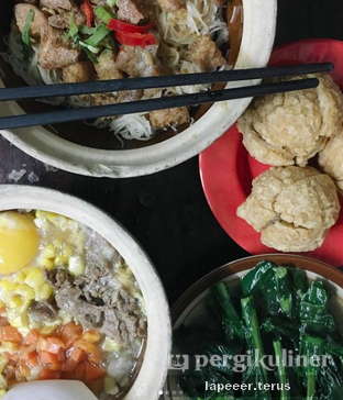 Foto 1 - Makanan di Claypot Popo oleh Seruni Lumongga