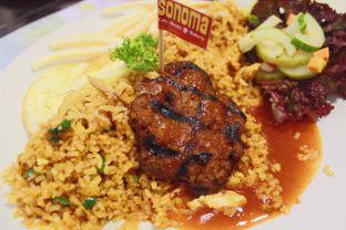 Foto 1 - Makanan(Spicy Steak Fried Rice) di Sonoma Resto oleh Novita Purnamasari