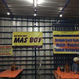 Foto 2 - Interior di Mie Baso Urat Mas Boy oleh Eaters Bdg
