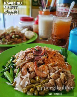 Foto 1 - Makanan di Kwetiau Akiat Medan oleh Asiong Lie @makanajadah