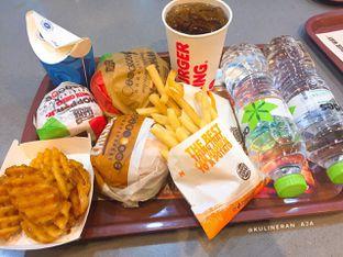 Foto 1 - Makanan di Burger King oleh @kulineran_aja