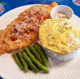 Foto Fish & Rice Sambal Matah di Fish Night Fish & Chip