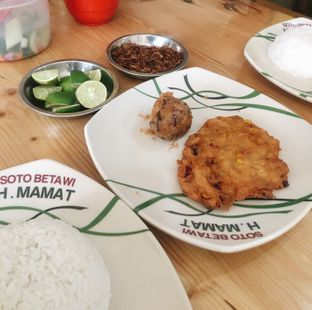 Foto 2 - Makanan di Soto Betawi H. Mamat oleh inggie @makandll