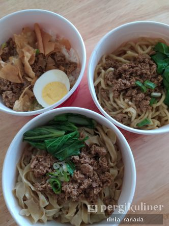 Foto Makanan di Mie Mantoel
