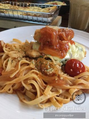 Foto 2 - Makanan(Chicchirichi ) di Spago Boulangerie Cafe oleh Monique @mooniquelie @foodinsnap