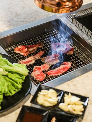 Foto 1 - Makanan di Hattori Shabu - Shabu & Yakiniku oleh Handy G.   @bufferdotcom