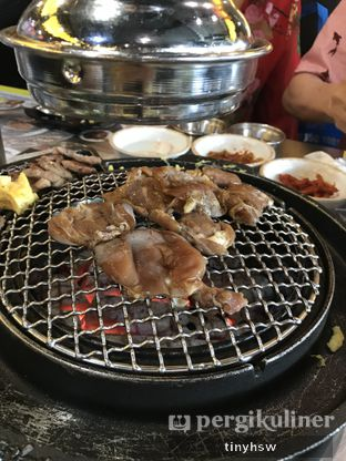 Foto 3 - Makanan( jikhwa dakgalbi) di Magal Korean BBQ oleh Tiny HSW. IG : @tinyfoodjournal
