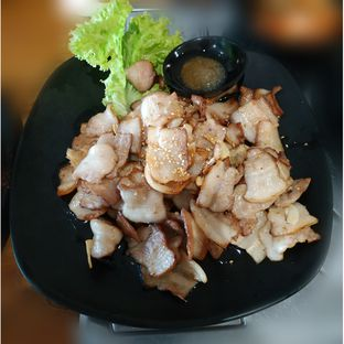 Foto 5 - Makanan(Samgyeopsal) di Ahjumma Kitchen oleh Eveline Nathania
