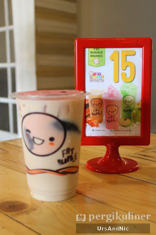 Foto 2 - Makanan( Fat bubble milk tea) di Fat Bubble oleh UrsAndNic