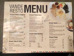 Foto review Vande One Resto oleh Kuliner Addict Bandung 5