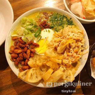 Foto 2 - Makanan(bubur ayam kota) di The People's Cafe oleh Tiny HSW. IG : @tinyfoodjournal