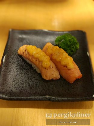 Foto 6 - Makanan(Aburi Salmon Mentai) di Sushi Hiro oleh Rifky Syam Harahap | IG: @rifkyowi