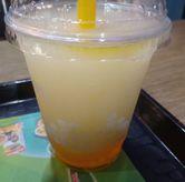 Foto konyaku lychee di HokBen (Hoka Hoka Bento)